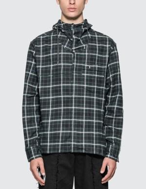 Lanvin Hooded Long Overshirt