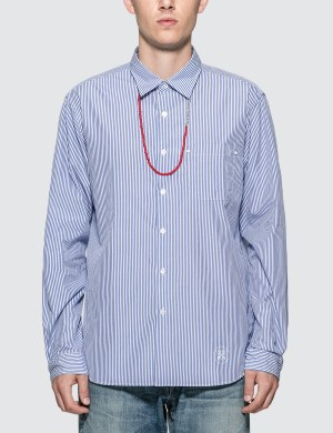 uniform experiment Beads Code Regular Collar Shirt