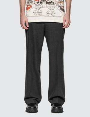 Lanvin Wide-leg Tailored Pants