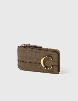 Chlo Chlo C Zipped Card Case