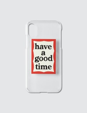 Have A Good Time Frame iPhone Case X / Xs