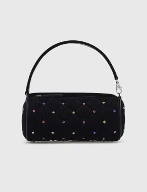 Les Petits Joueurs Bon Bon Quilted Multicolored Crystal Mini Bag