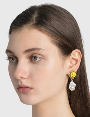 Safsafu Sun Earrings
