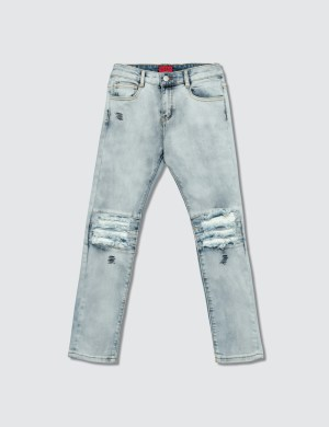 Haus of JR Landon Biker Denim Jeans