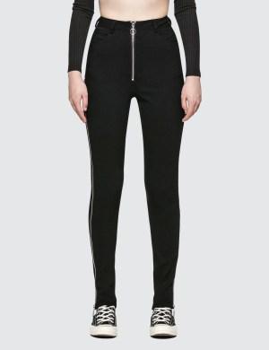 Danielle Guizio Maud Trousers Zipped