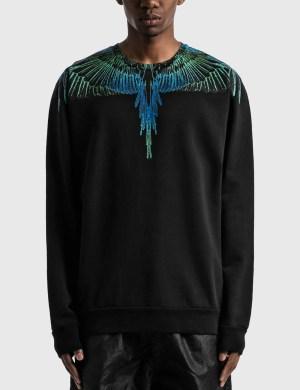 Marcelo Burlon Blue Wings Sweatshirt