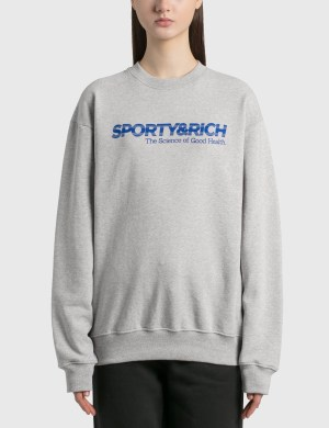 Sporty & Rich Science Of Good Health Crewneck