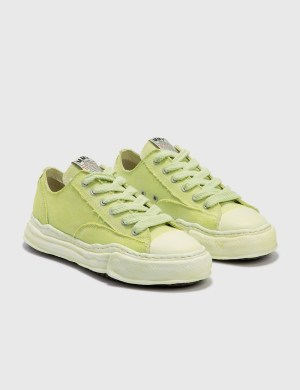 Maison Mihara Yasuhiro Original Sole Over Dyed Canvas Low Cut Sneaker