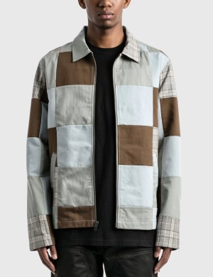 Stussy Patchwork Zip Jacket
