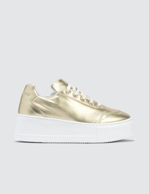 Joshua Sanders Gold  Liberty Trainers