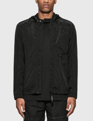 CP Company Nylon Shirt Jacket with Goggle Hood