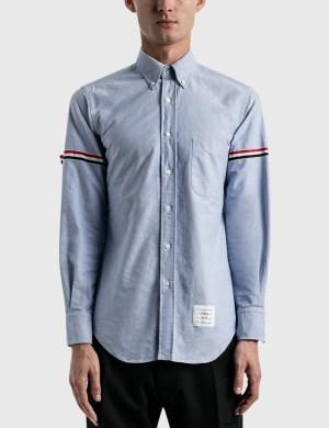 Thom Browne RWB Stripe Oxford Shirt