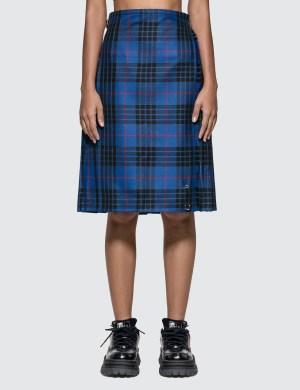 Le Kilt Blue Morgan Tartan 25-inch Skirt