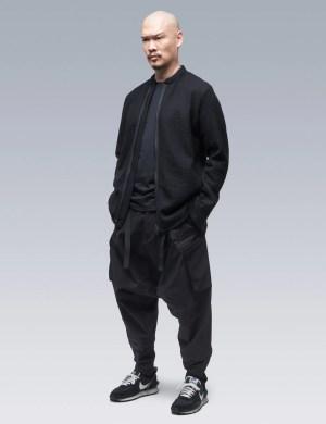 ACRONYM Cashllama Long Sleeve Zip Shirt Jacket