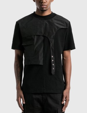 Heliot Emil Layered T-Shirt with Strap
