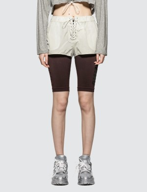 Unravel Project Lace-up Shorts