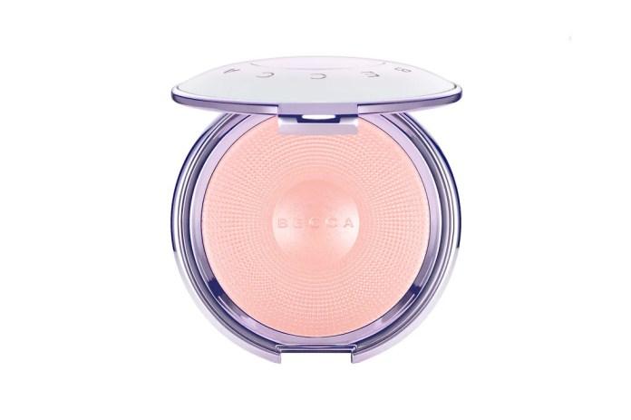BECCA Cosmetics Pearl Glow Luster Powder Lip Tint Shimmering Eye Palette