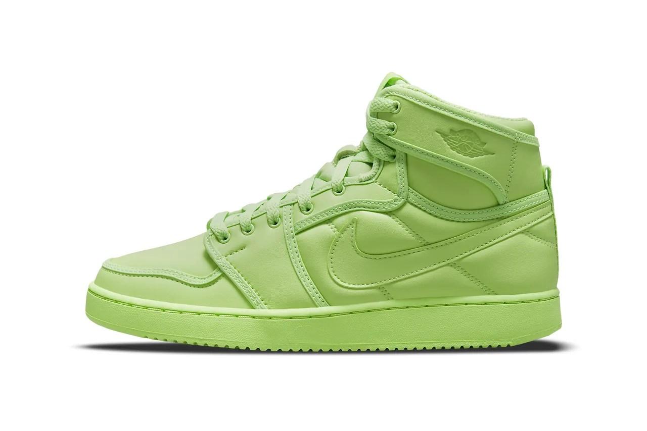 Billie Eilish Nike Air Jordan 1 KO AJ15 Collaboration Green Beige