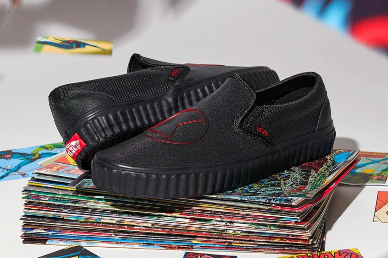 marvel x vans 2018 collection slip on
