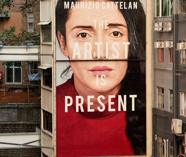 Gucci Artwalls Marina Abramovic Paintings Installation Exhibition The Artist Is Present Hong Kong London New York