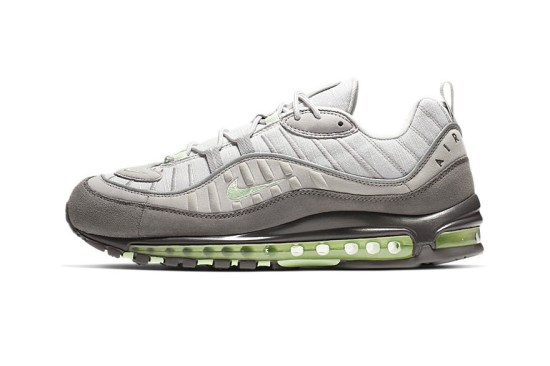 reputable site 7f4a4 c56f5 Nike s Air Max 98 is returning in a lush gradient grey color scheme that  was originally utilized on its Air Max 95 predecessor. The unique iteration  is a ...