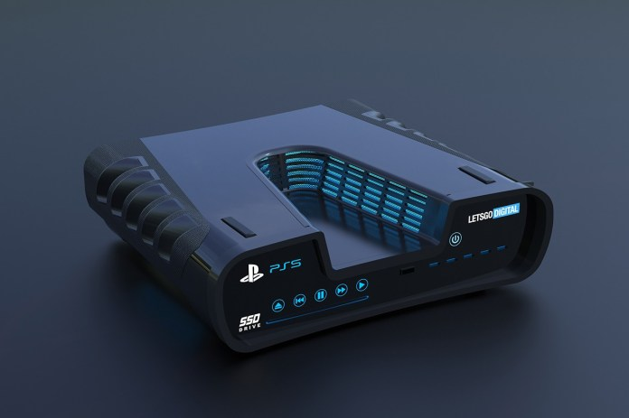 Sonys Playstation 5 Digital Renders gaming sony PlayStation