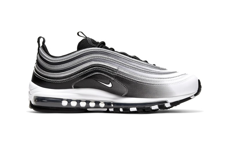 nike air max 97 faded black reflective