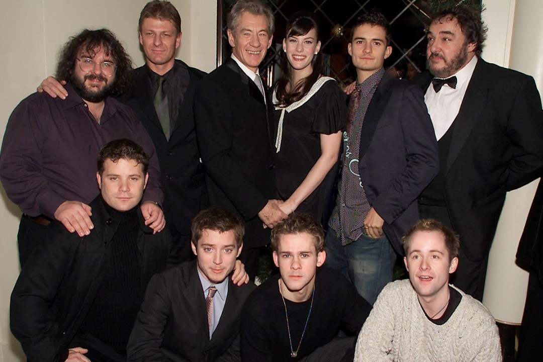 A very young Lord of the Rings cast