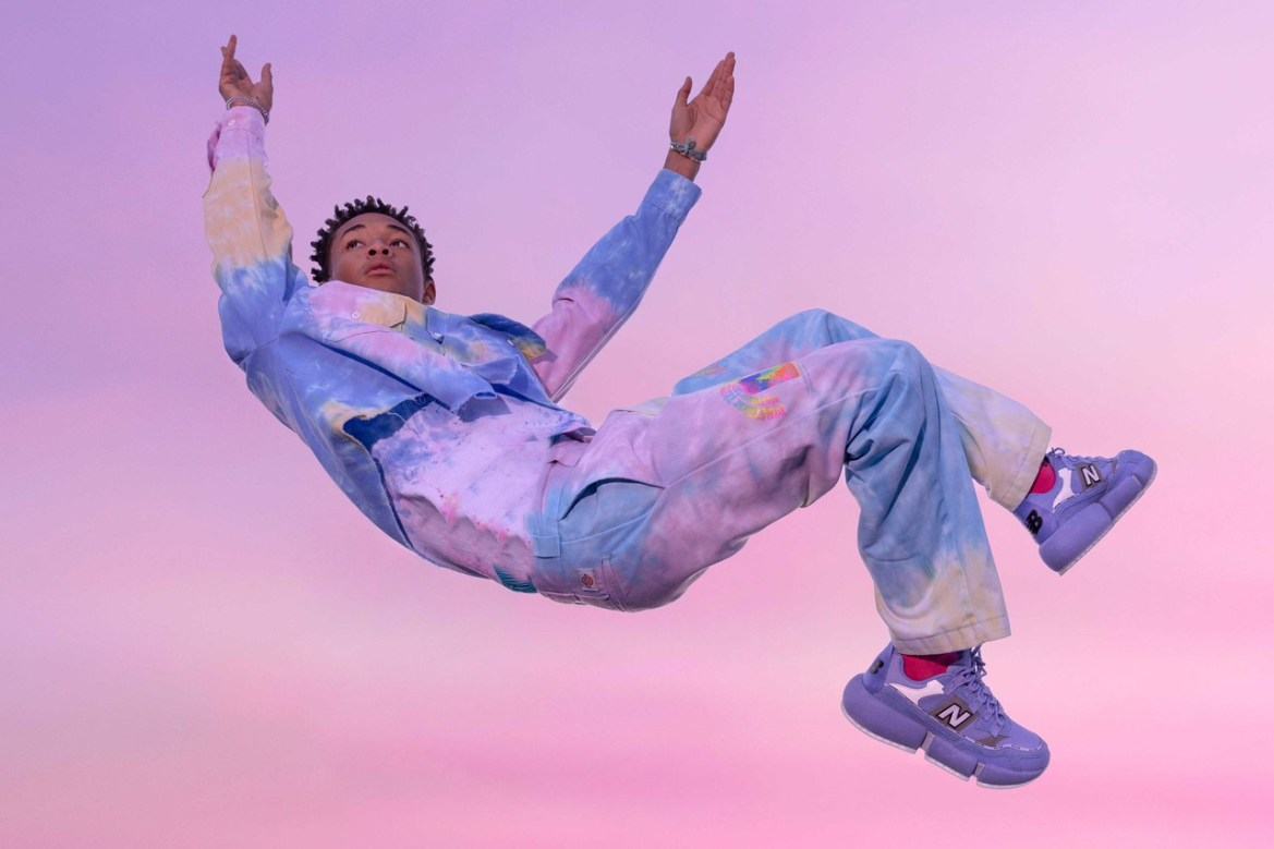 jaden smith new balance vision racer wavy baby blue official release date info photos price store list buying guide