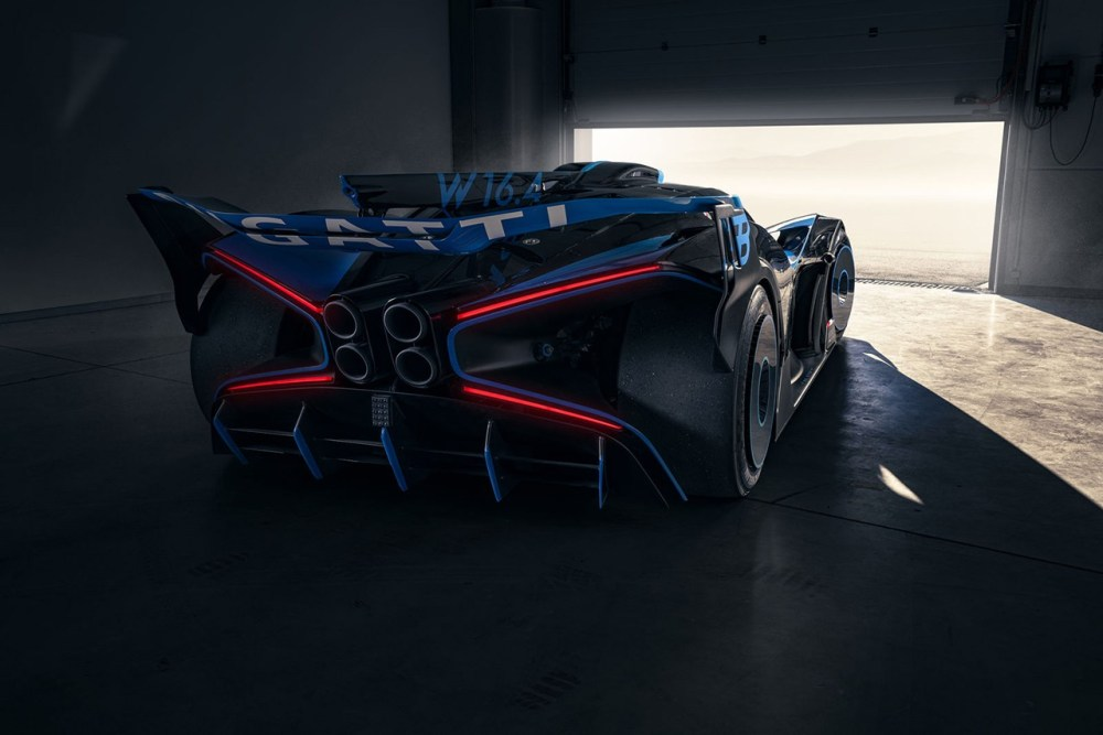 Bugatti Bolide Concept Real Life Build Official Track Race Hyper Car Supercar 1,824 HP Nürburgring quad-turbocharged 8.0-liter W16
