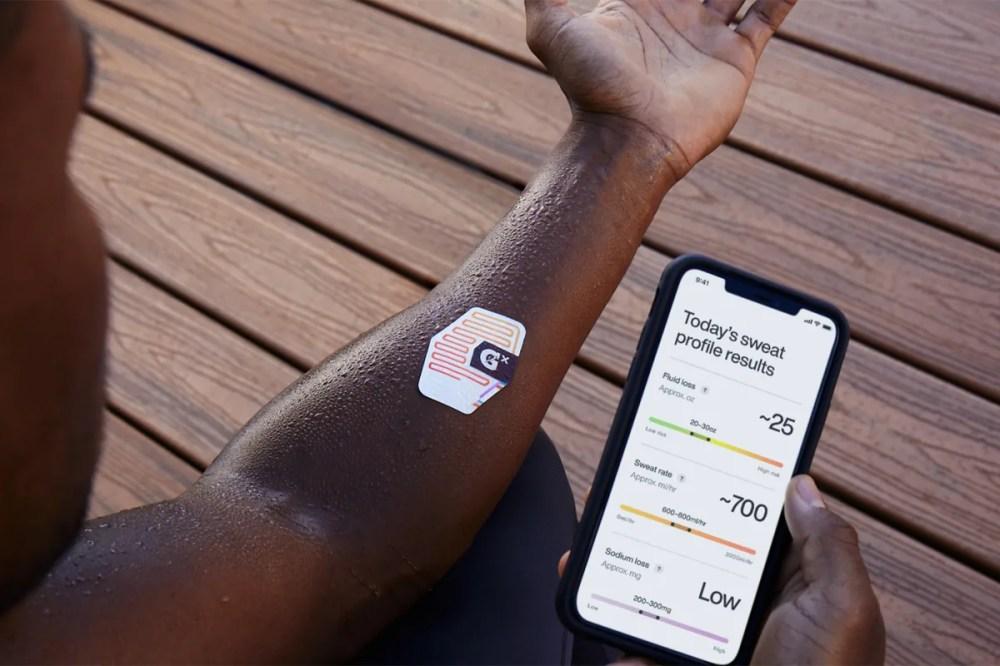 Gatorade Smart Wearable Launch Gx Sweat Patch Measures Sweat Smarter Hydration Gatorade's new Gx Sweat Patch tests your sweat for smarter hydration