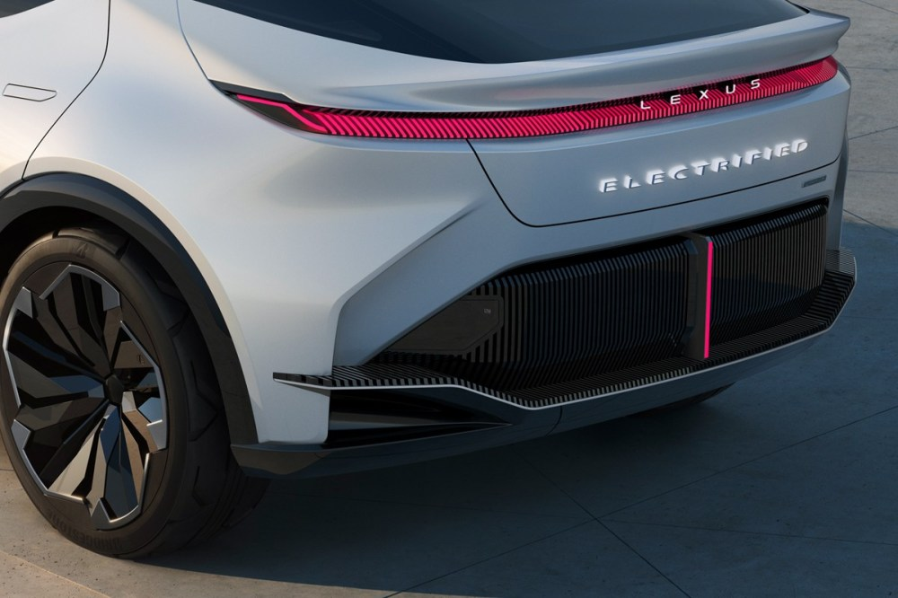 Lexus Hints at Future EV Direction With New LF-Z Electrified Concept Car Electric Vehicles Lexus LF-Z BEV battery electric vehicles electric cars tesla toyota lexus concept reveal show united nations luxury