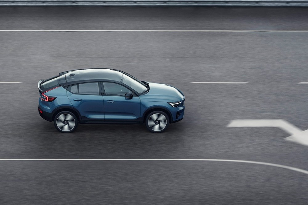 volvo electric cars c40 recharge vehicle charging battery