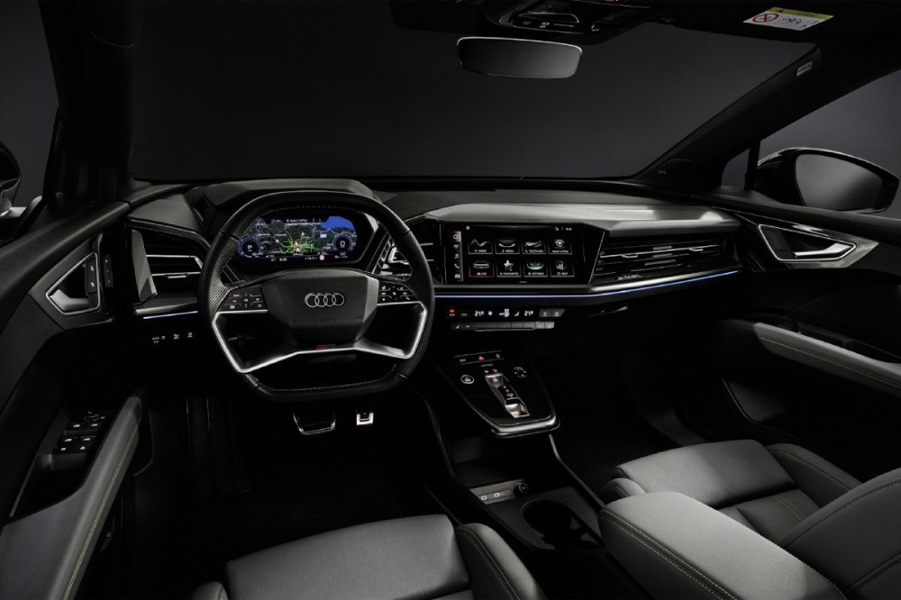 audi q4 e tron electric car vehicle suv sportback trim model variant global unveiling release motor