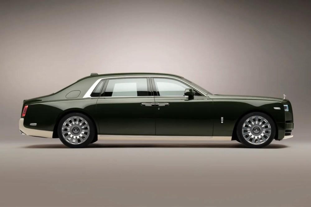 Hermès x Rolls-Royce Phantom VIII Oribe Collaboration Luxury British Limo Executive Luxe Car Release Information Yusaku Maezawa Collector
