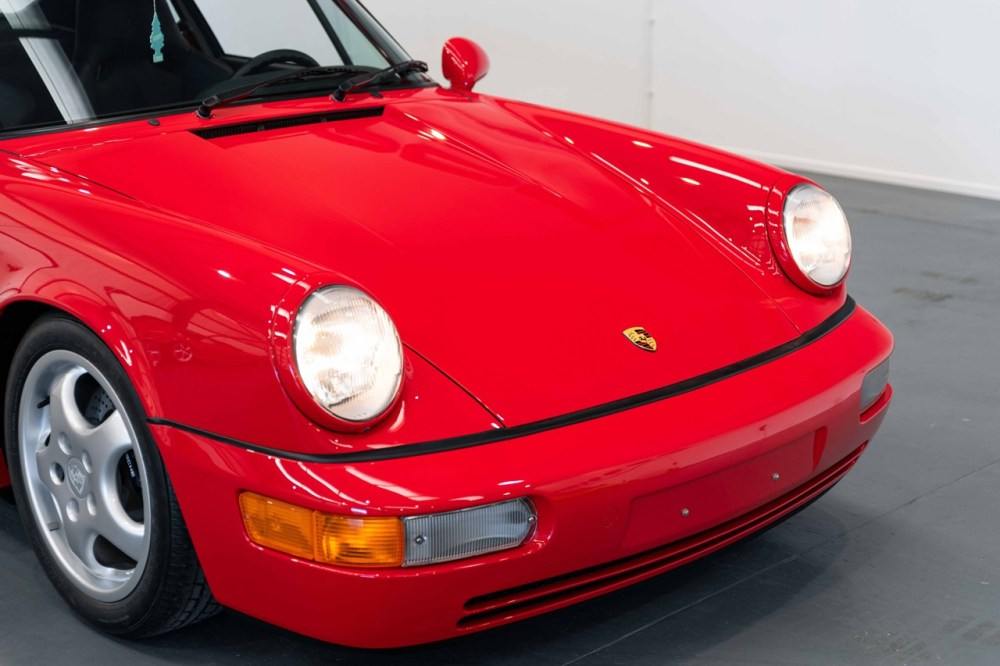 1991 Porsche 911 Carrera RS 3.6-Liter Flat Six Engine Rare German Sportscar Classic Brand New Not Driven Delivery Miles Collecting Cars Auctions