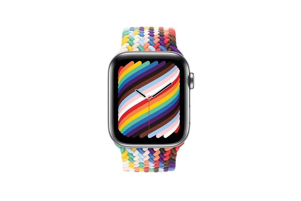 Apple and Nike Drop Rainbow Weave Pride Edition Apple Watch Loops