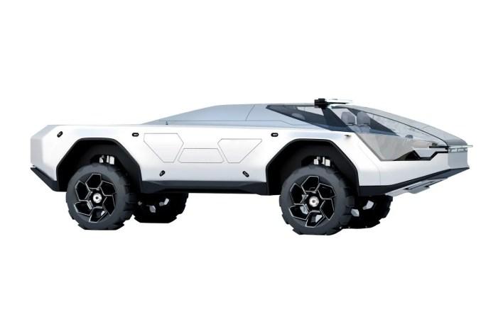 Radek Štěpán Pandemax Covid-19 Coronavirus Pandemic Tesla Cybertruck Concept Mars Probe Rover Elon Musk Trucks Off Road