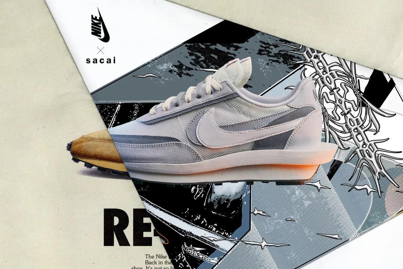"Sacai x Nike Waffle LDV ""All-White"" se dévoile"