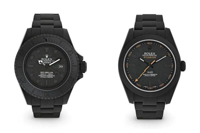 MAD Paris 打造 Rolex 全新 Sea-Dweller 和 Milgauss 定製腕錶