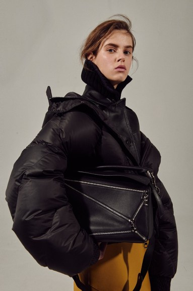 IENKI IENKI Puffer Jacket Ukraine Fall Winter 2017 Collection Lookbook