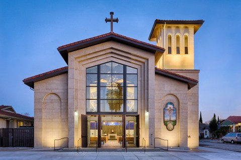 TOPA Architecture - Holy Cross Church, San Jose, CA