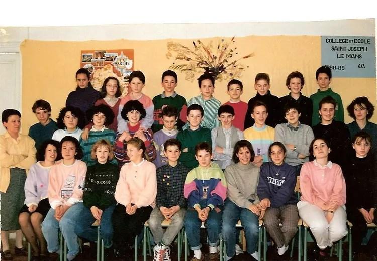 saint joseph le mans 4eme a de 1988