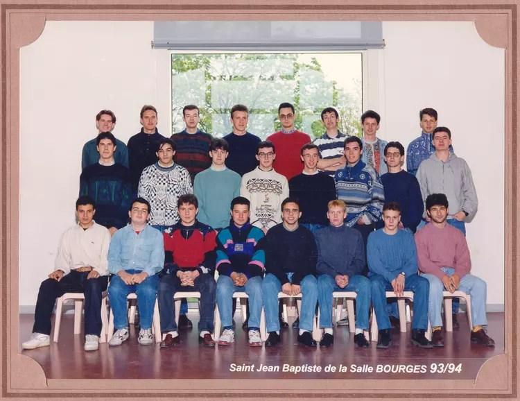 photo de classe tf3 de 1993 lycee
