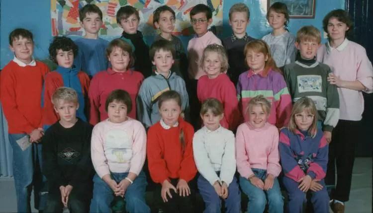 Photo De Classe Cm1 Cm2 De 1991 Ecole Morel Parent
