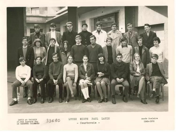 Photo De Classe Seconde De 1969 Lyce Paul Lapie
