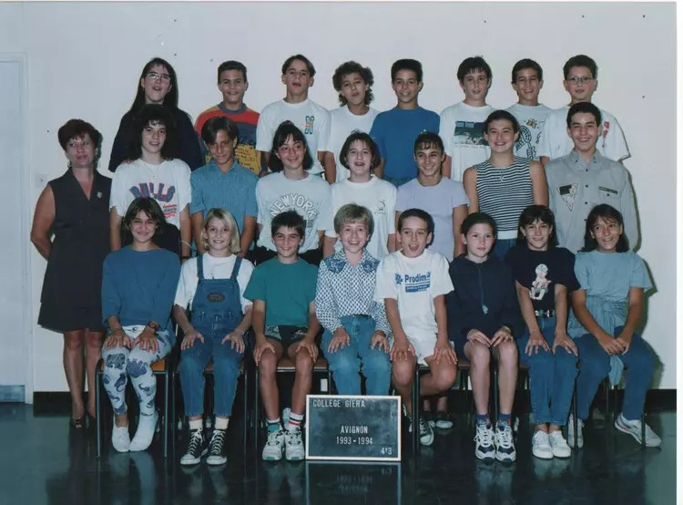 Photo De Classe 4me3 De 1994 Collge Paul Giera