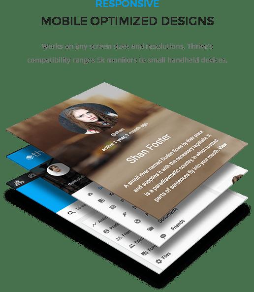 Thrive Mobile Design