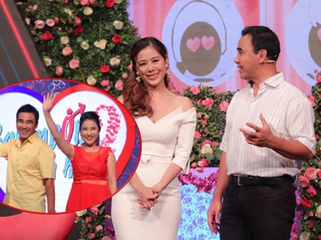"""Nam Thư bất ngờ thay Cát Tường dẫn cùng Quyền Linh trong """"Bạn muốn hẹn hò"""""""