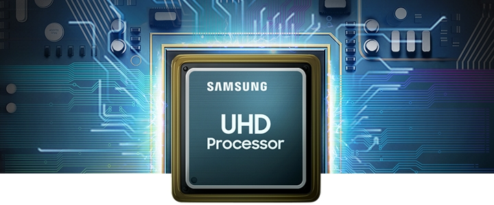 A powerful processor optimizes your TV's performance with 4K picture quality.
